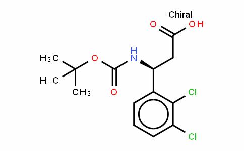 Boc-(S)- 3-Amino-3-(2,3-dichlorophenyl)-propionic acid