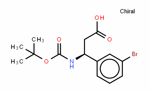 Boc-(S)- 3-Amino-3-(3-bromophenyl)-propionic acid
