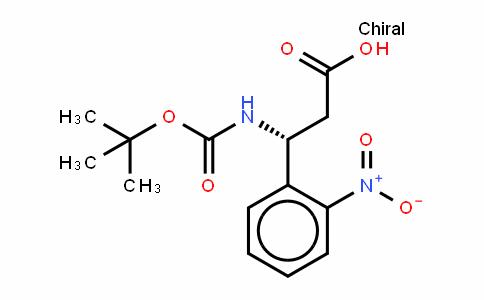 Boc-(R)- 3-Amino-3-(2-nitrophenyl)-propionic acid