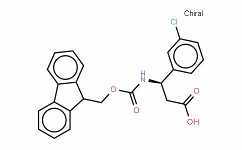 Fmoc-(R)- 3-Amino-3-(3-chlorophenyl)-propionic acid