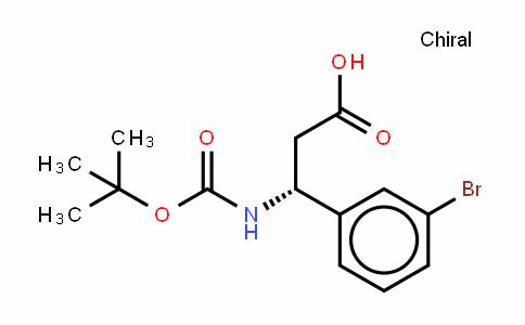 Boc-(R)- 3-Amino-3-(3-bromophenyl)-propionic acid