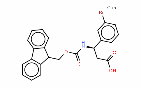 Fmoc-(R)- 3-Amino-3-(3-bromophenyl)-propionic acid