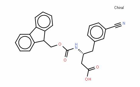 Fmoc-D-β-HoPhe(3-CN)-OH