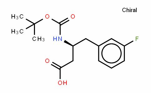 Boc-β-HoPhe(3-F)-OH