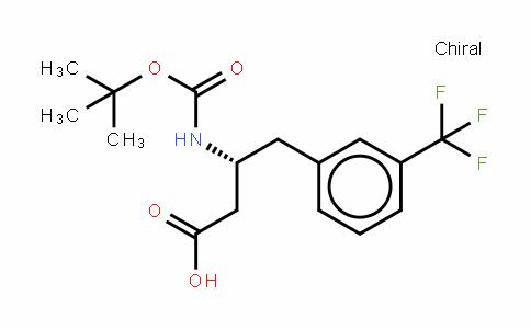 Boc-D-β-HoPhe(3-CF3)-OH