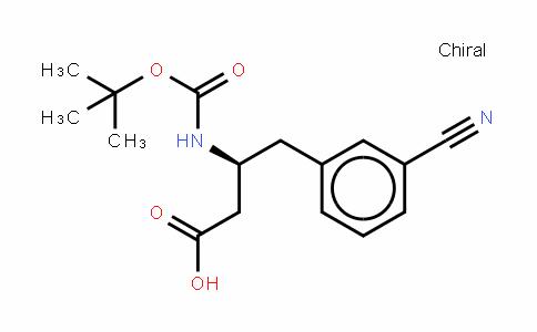 Boc-β-HoPhe(3-CN)-OH