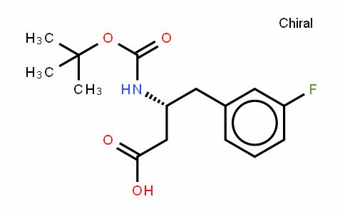 Boc-D-β-HoPhe(3-F)-OH