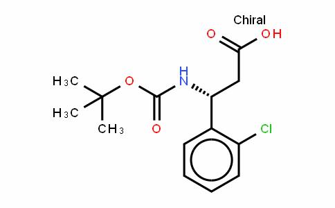 Boc-(R)- 3-Amino-3-(2-chlorophenyl)-propionic acid