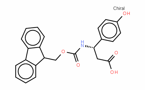 Fmoc-(S)- 3-Amino-3-(4-hydroxyphenyl)-propionic acid