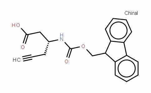 Fmoc-D-β-HoGly(Propargyl)-OH