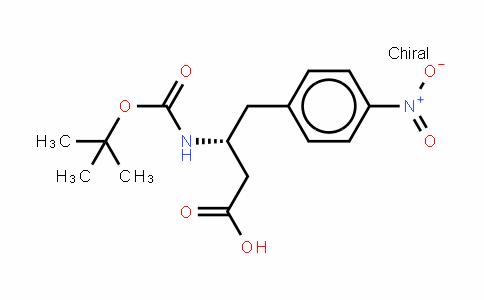 Boc-D-β-HoPhe(4-NO2)-OH