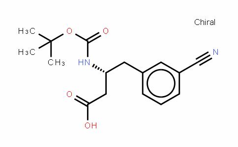 Boc-D-β-HoPhe(3-CN)-OH