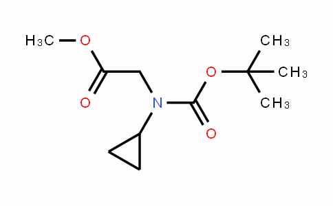 N-Boc-Cyclopropylglycine Methyl ester