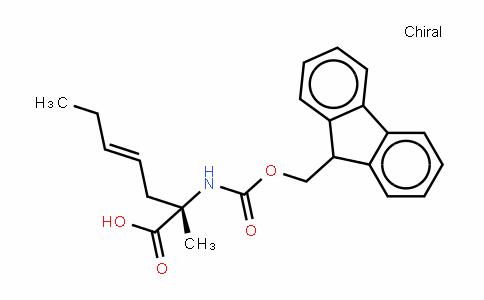 (S)-N-(9-Fluorenylmethylcarbamate)-2-(2'-pentenyl)alanine