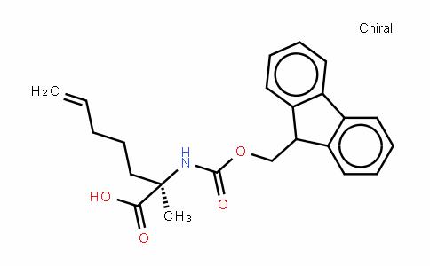 Fmoc-(R)-2-amino-2-methylhept-6-enoic acid