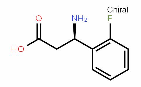 (R)- 3-Amino-3-(2-fluorophenyl)-propionic acid
