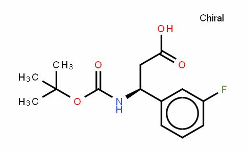 Boc-(S)- 3-Amino-3-(3-fluorophenyl)-propionic acid