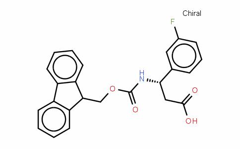 Fmoc-(S)- 3-Amino-3-(3-fluorophenyl)-propionic acid