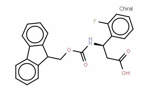 Fmoc-(R)- 3-Amino-3-(2-fluorophenyl)-propionic acid