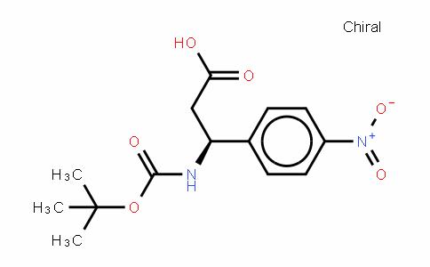Boc-(S)- 3-Amino-3-(4-nitrophenyl)-propionic acid
