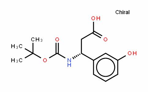 Boc-(R)- 3-Amino-3-(3-hydroxyphenyl)-propionic acid