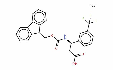 Fmoc-(R)- 3-Amino-3-(3-trifluoromethylphenyl)-propionic acid