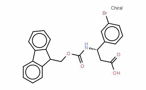 Fmoc-(S)- 3-Amino-3-(3-bromophenyl)-propionic acid