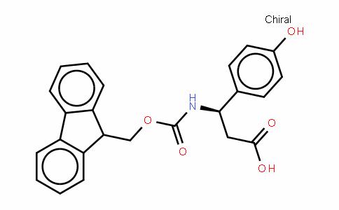 Fmoc-(R)- 3-Amino-3-(4-hydroxyphenyl)-propionic acid