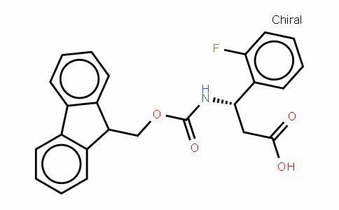 Fmoc-(S)- 3-Amino-3-(2-fluorophenyl)-propionic acid