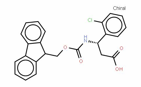 Fmoc-(S)- 3-Amino-3-(2-chlorophenyl)-propionic acid
