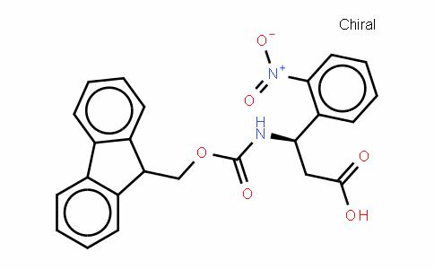 Fmoc-(R)- 3-Amino-3-(2-nitrophenyl)-propionic acid
