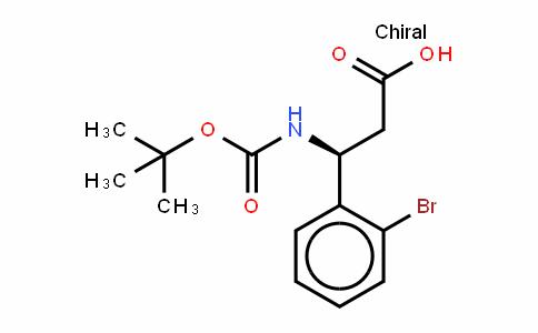 Boc-(S)- 3-Amino-3-(2-bromophenyl)-propionic acid