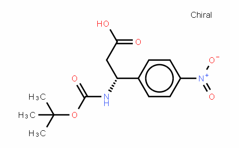 Boc-(R)- 3-Amino-3-(4-nitrophenyl)-propionic acid