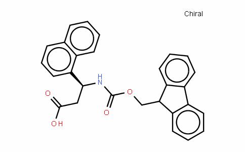 Fmoc-(S)- 3-Amino-3-(1-naphthylphenyl)-propionic acid