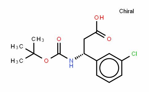 Boc-(R)- 3-Amino-3-(3-chlorophenyl)-propionic acid