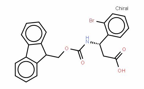 Fmoc-(S)- 3-Amino-3-(2-bromophenyl)-propionic acid