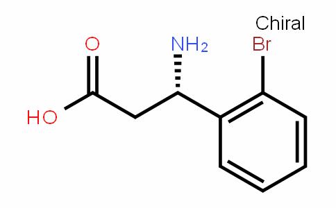 (S)- 3-Amino-3-(2-bromophenyl)-propionic acid