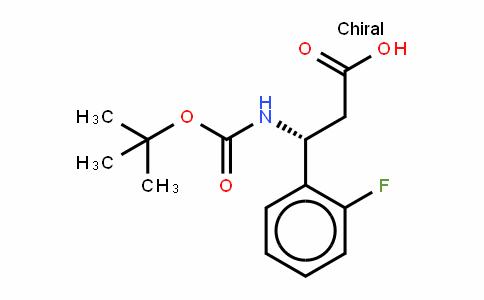 Boc-(R)- 3-Amino-3-(2-fluorophenyl)-propionic acid