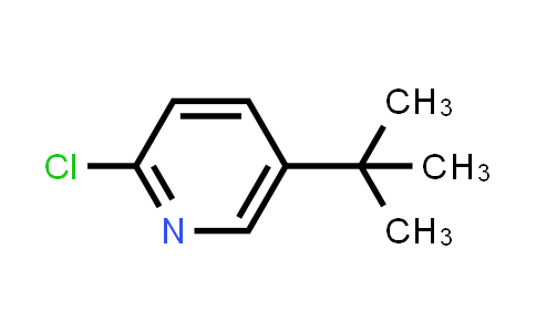 Pyridine, 2-chloro-5-(1,1-dimethylethyl)-