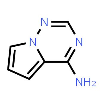 Pyrrolo[2,1-f][1,2,4]triazin-4-amine