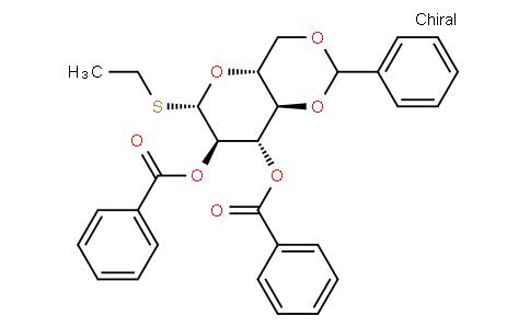 Ethyl 2,3-di-O-benzoyl-4,6-O-benzylidene-1-thio-β-D-glucopyranoside