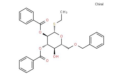 Ethyl 2,3-di-O-benzoyl-6-O-benzyl-1-thio-β-D-glucopyranoside