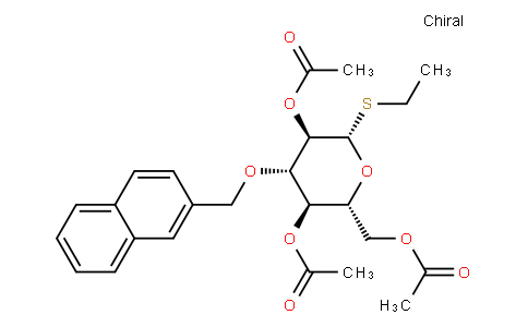 Ethyl 2,4,6-tri-O-acetyl-3-O-(2-naphthyl)methyl-1-thio-β-D-glucopyranoside