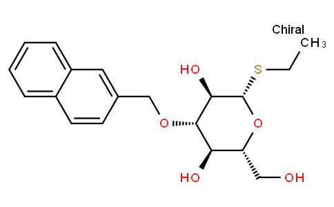 Ethyl 3-O-(2-naphthyl)methyl-1-thio-β-D-glucopyranoside