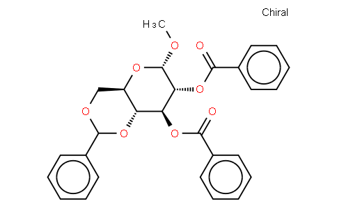 Methyl 2,3-di-O-benzoyl-4,6-O-benzylidene-α-D-glucopyranoside