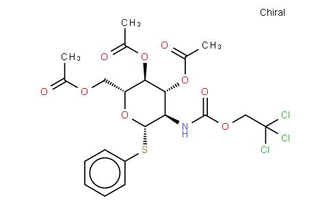 Phenyl 3,4,6-Tri-O-acetyl-2-deoxy-1-thio-2-(2,2,2-trichloroethoxycarbonylamino)-β-D-glucopyranoside