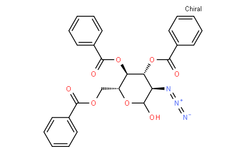 3,4,6-Tri-O-benzoyl-2-deoxy-2-azido-D-glucopyranose