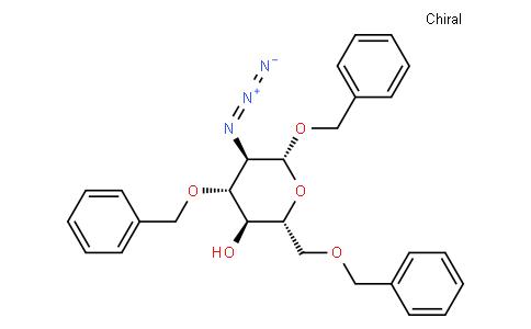 benzyl 2-azido-3,6-di-O-benzyl-2-deoxy-β-D-glucopyranoside