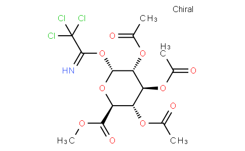 O-(2,3,4-Tri-O-acetyl-α-D-glucuronic acid methyl ester) trichloroacetimidate