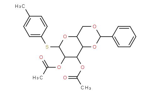 4-methylphenyl 2,3-di-O-acetyl-4,6-O-benzylidene-1-thio-β-D-mannopyranoside